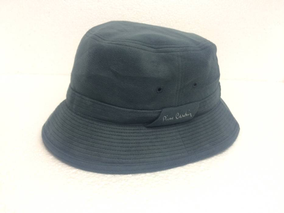 Pierre Cardin RARE PIERRE CARDIN BUCKET HAT EMBROIDERED LOGO BIG ... 789cdc6e148
