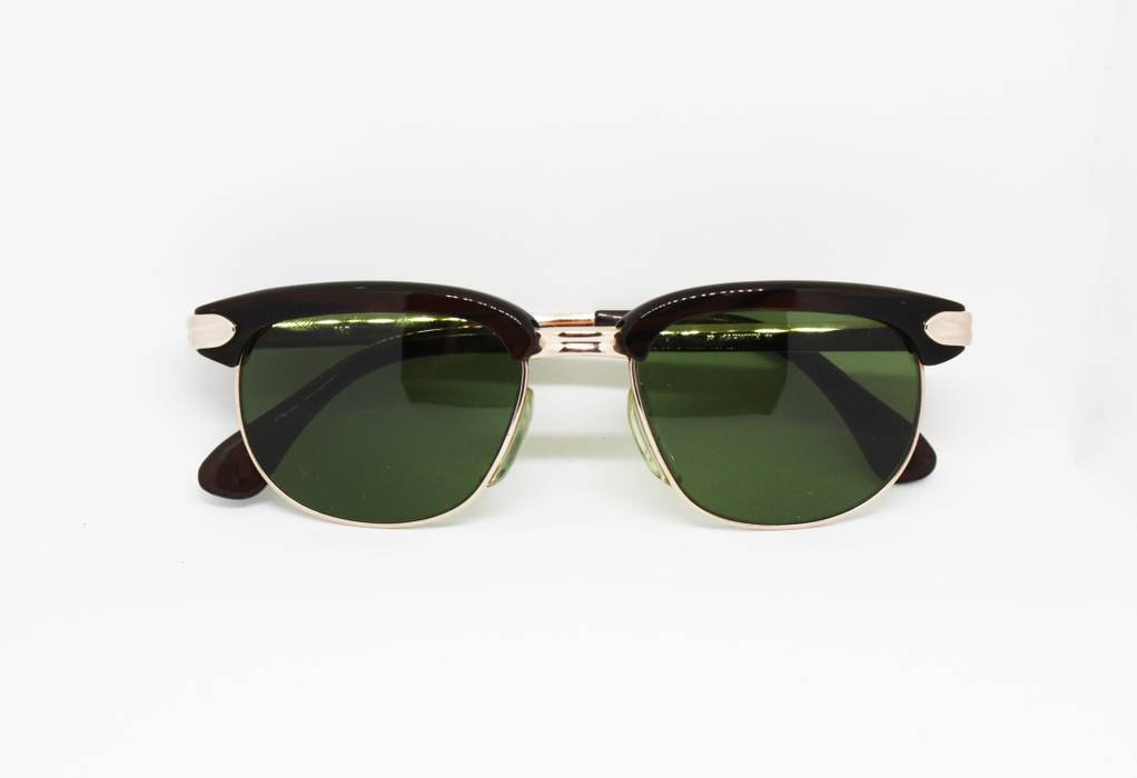 de39d8defc Vintage. Marwitz Optima 1950s Vintage Spectacles sunglasses green lenses ...