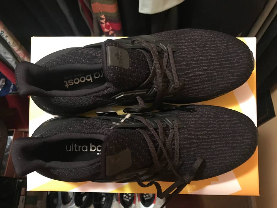 b5e6f15b33f0c ... free shipping adidas ultra boost triple black 3.0 v2 size us 12 eu  36a36 66659 coupon ...