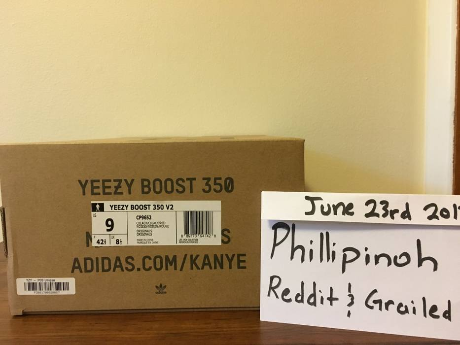 new product fb5dc 888ff Yeezy Boost Yeezy Boost 350 v2 Bred Size US 9  EU 42 - 9