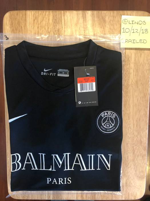 premium selection f10de 00e01 By Photo Congress || Psg Football Jersey Balmain