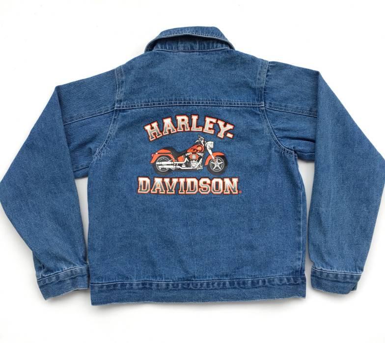 2aa34994b4a4f Hurley Kids Harley Davidson Jean Jacket Size 12 14 Denim Motorcycles Size  US XS