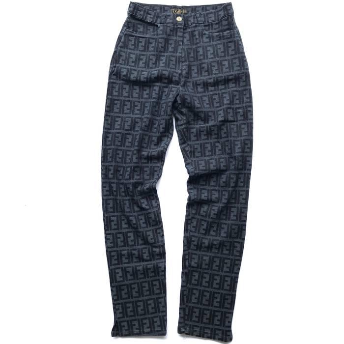 Fendi Vintage Fendi Zucca Monogram Pants Not Prada Versace
