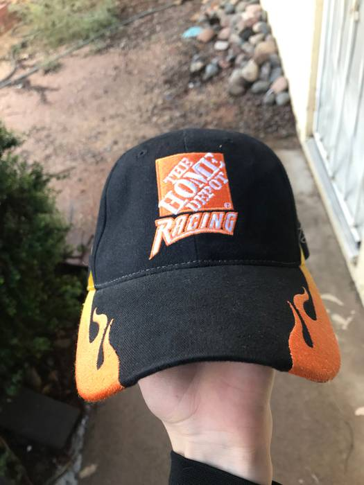 554ba1d068d Chase Authentics Vintage Home Depot Racing Promo Hat Nascar Size one ...