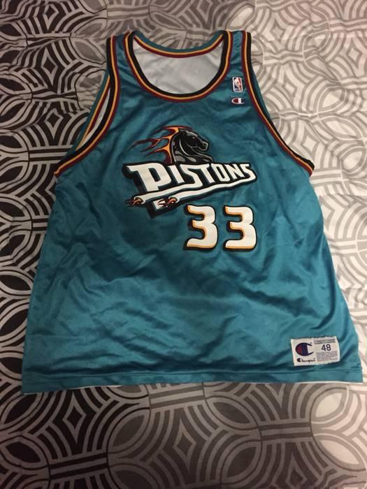 Champion. Vintage Reversible Champion 90s NBA Grant Hill  33 Detroit Piston  sJersey 582d1b241
