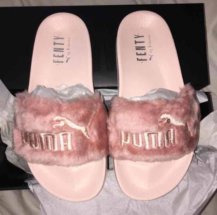 07afeaad6dac Puma X Rihanna Fenty Fur Slides Size 6 - Slip Ons for Sale - Grailed