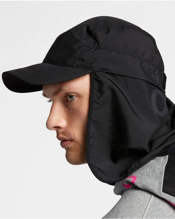 Nike ACG. Nike ACG 3-in-1 Cap Techwear 888675-010 Nikelab Bucket Acronym Y3  Hat. Size  ONE SIZE 4676e8c7494c