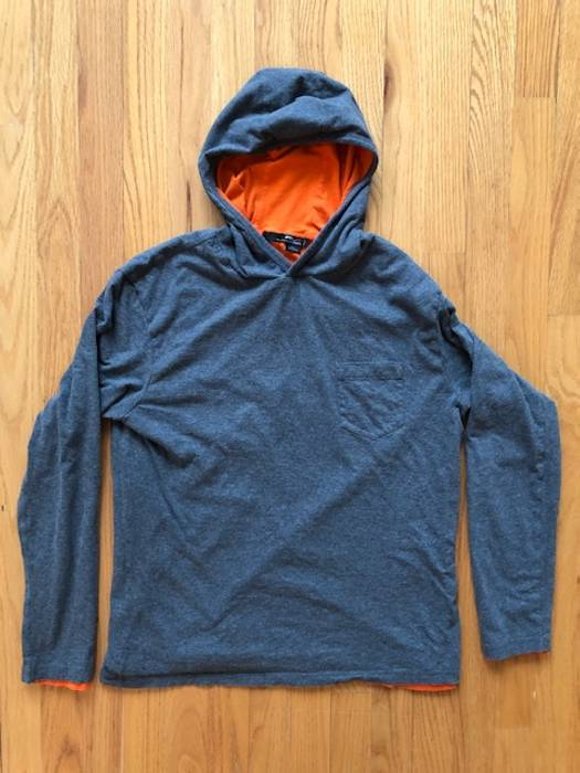 4edafc104 ... norway rlx rlx ralph lauren hooded t shirt grey orange medium med m  hoodie purple label
