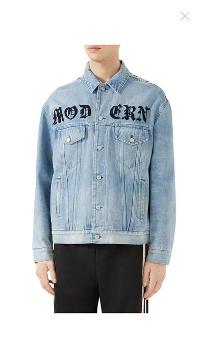 3364f754cf63 Gucci Gucci Oversized Denim Jacket Size m - Denim Jackets for Sale ...