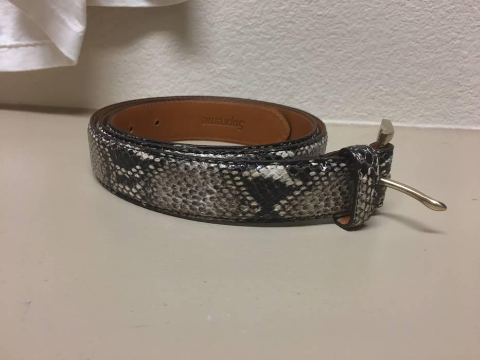37a312d9f254 Supreme Supreme Snake Skin Belt Size 34 - Belts for Sale - Grailed