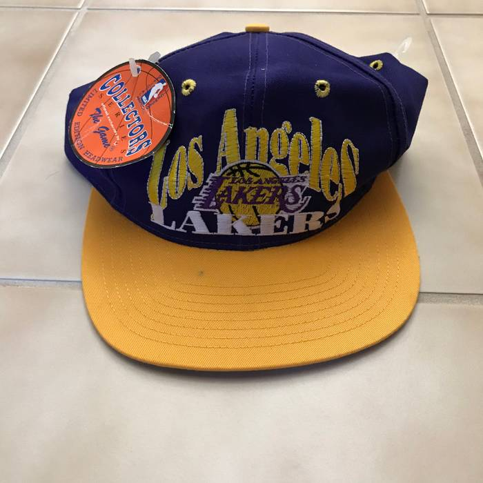 5a56e487e8f Vintage NBA Los Angeles Lakers SnapBack Cap Size one size - Hats for ...