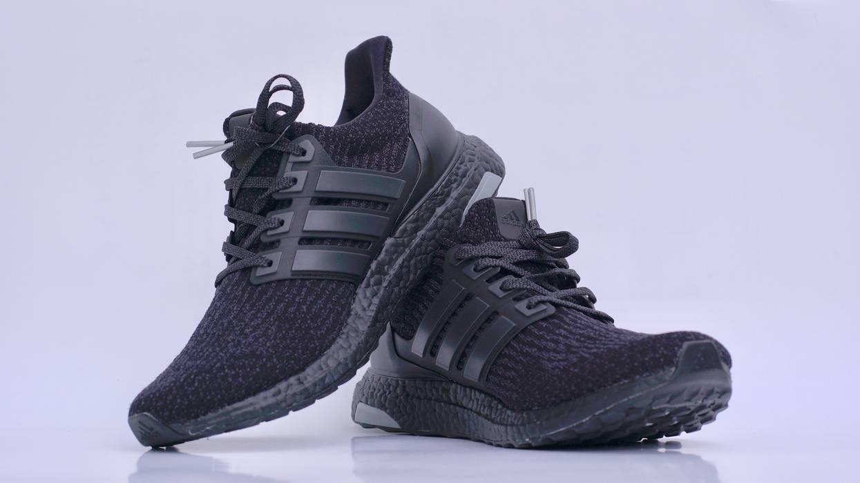 d89cdf7eb7b35 Adidas Adidas Ultra Boost 3.0 Triple Black Size 9.5 - Low-Top ...