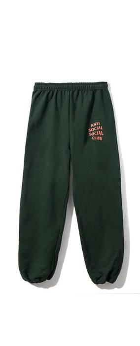 5406b135e61f Antisocial Social Club Anti Social Green Pants Size 30 - Sweatpants ...