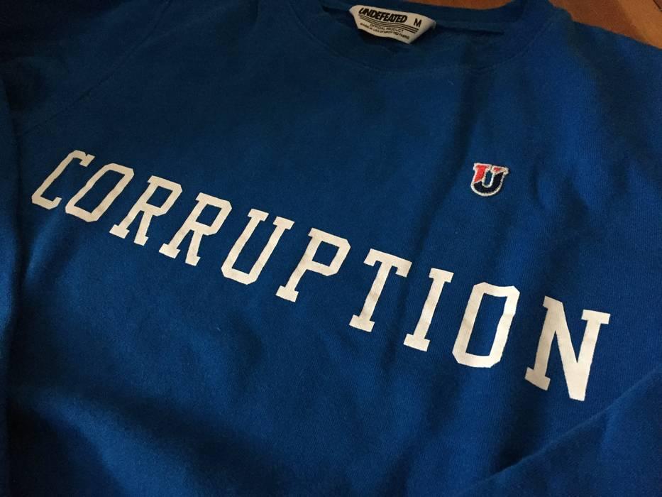 ac336d206 Undefeated CORRUPTION Crewneck Sweatshirt Size m - Sweatshirts ...