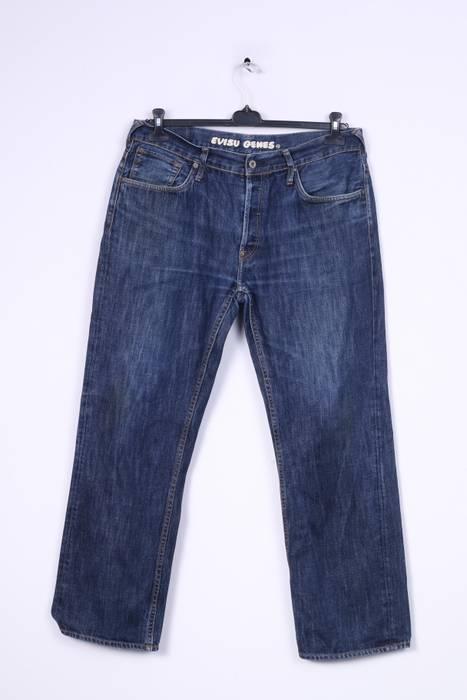 7b9645023200 Evisu Evisu Mens W34 Trousers Denim Jeans Blue Cotton 3912 Size 34 ...