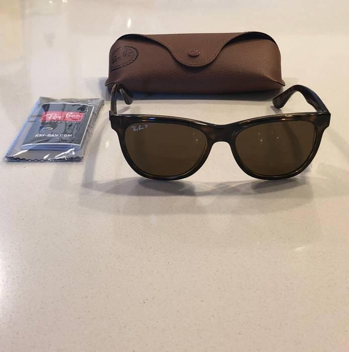 53f35271fc3 RayBan. Authentic RAY-BAN RB4184 710 83 Tortoise Nylon Brown Polarized  Sunglasses  178