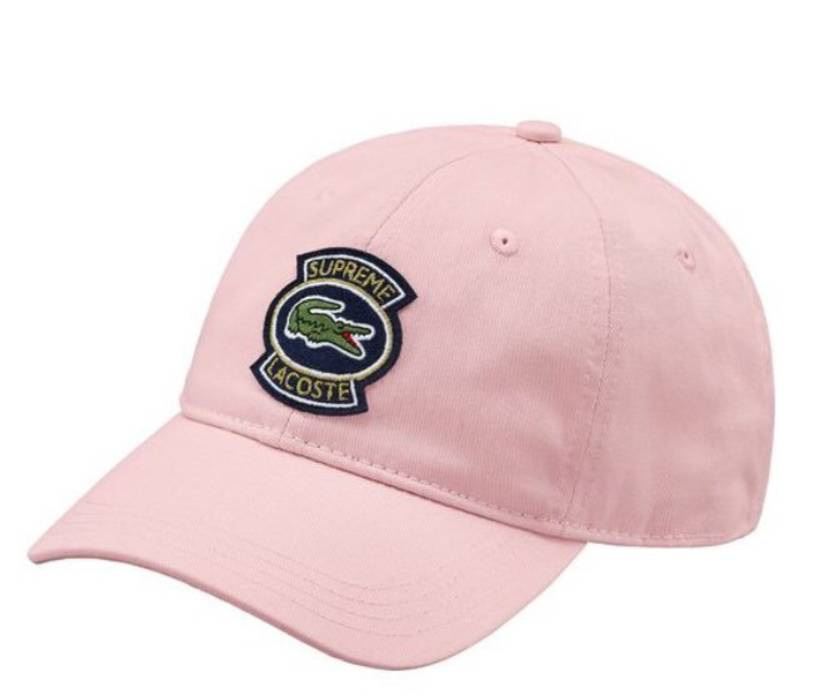 Supreme Supreme x Lacoste Twill 6-Panel Hat Size one size - Hats for ... 125b38cadc40