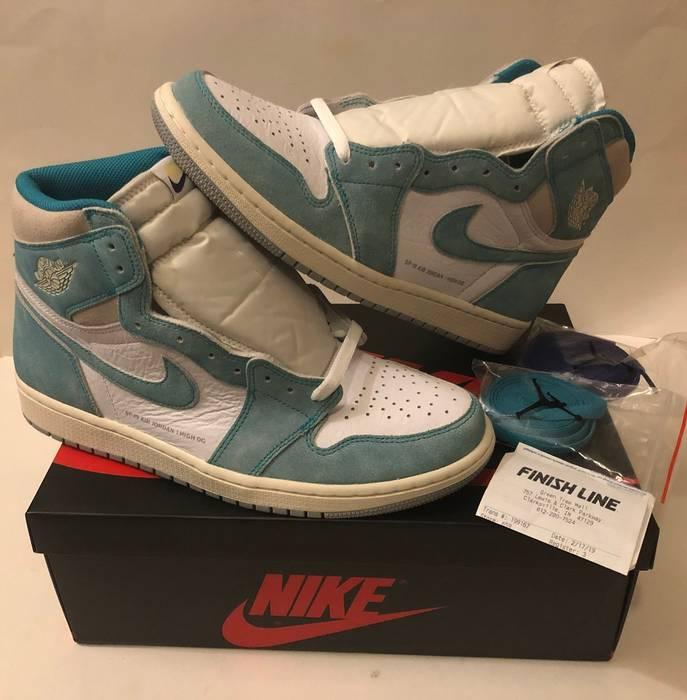 89ad3961fe33 Jordan Brand NIKE AIR JORDAN 1 TURBO GREEN RETRO HIGH DS 555088-311 ...