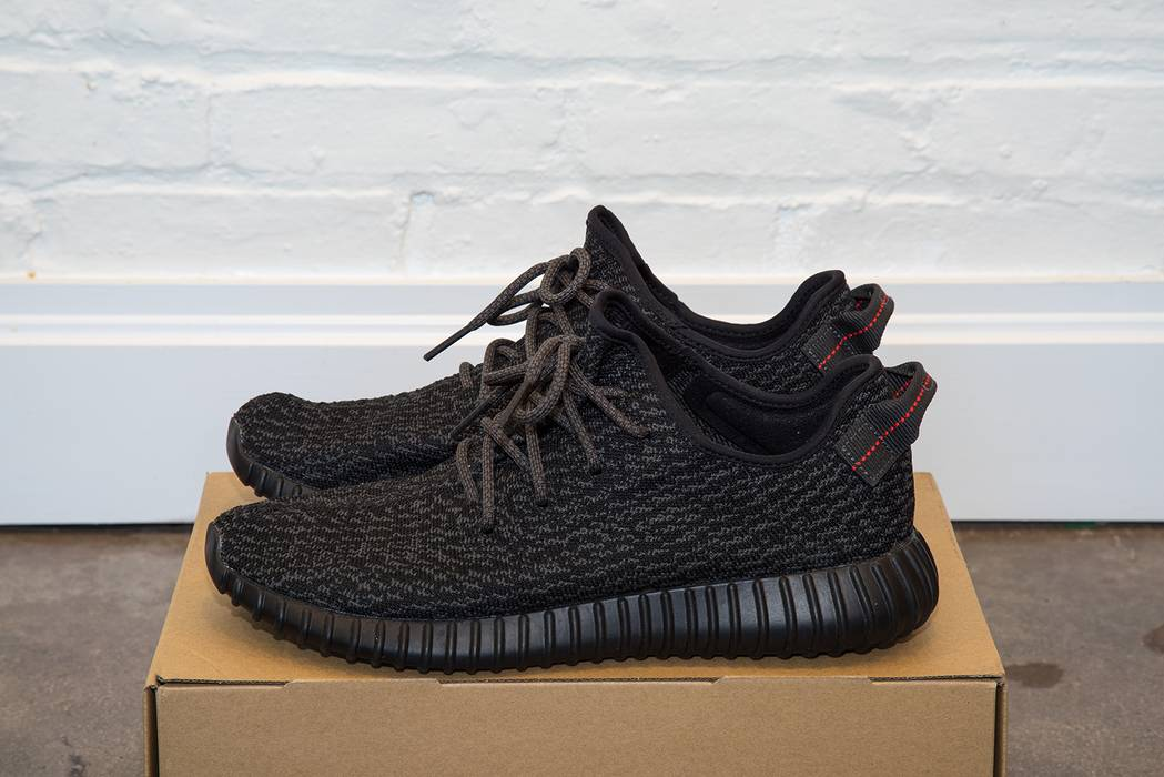 5d02a9eab456f ... promo code for adidas adidas yeezy boost 350 pirate black 2015 11.5  size us 11.5 eu ...