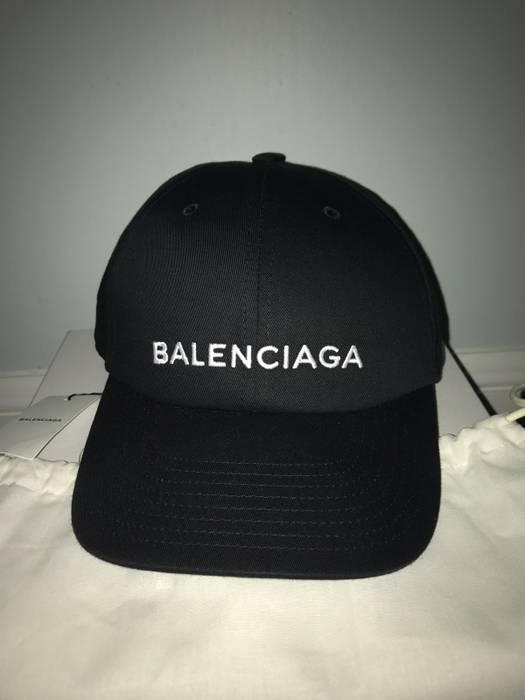 216a0d0f846 Balenciaga Classic Baseball Cap with Balenciaga Embroidered Logo Size ONE  SIZE