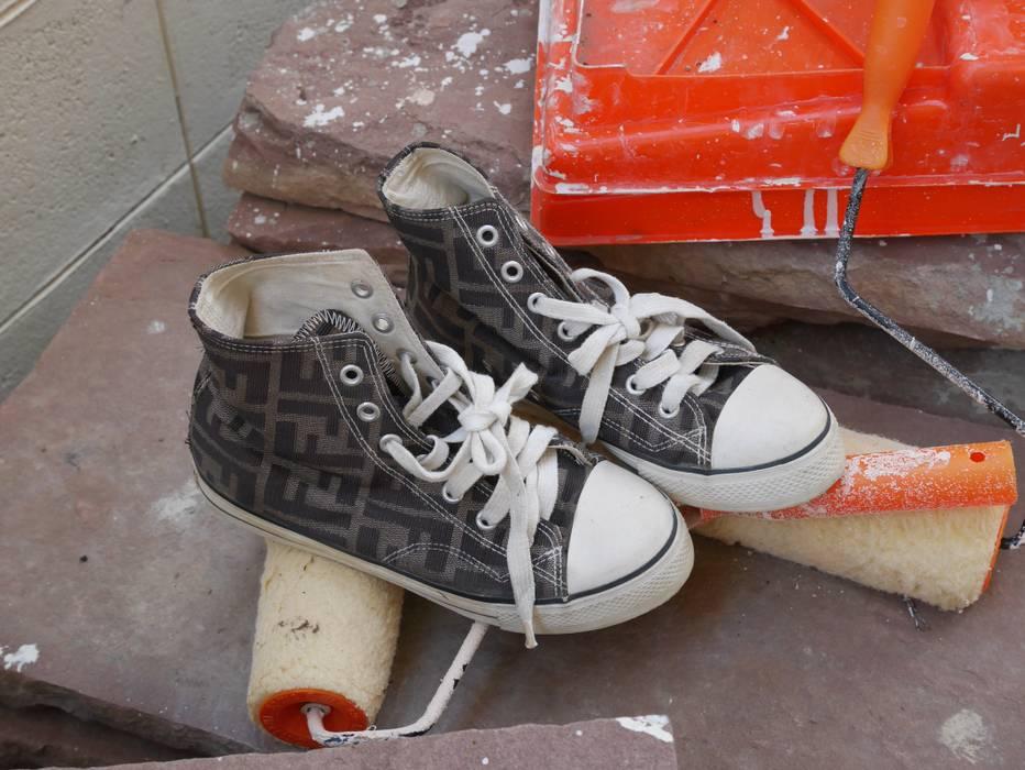 8f4444a11ce05b Fendi Rare Vintage Fendi OVP Chuck Taylor High Size 6 - Hi-Top ...