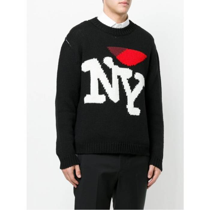 Raf Simons Raf Simons I Love Ny Wool Sweater Medium Size M