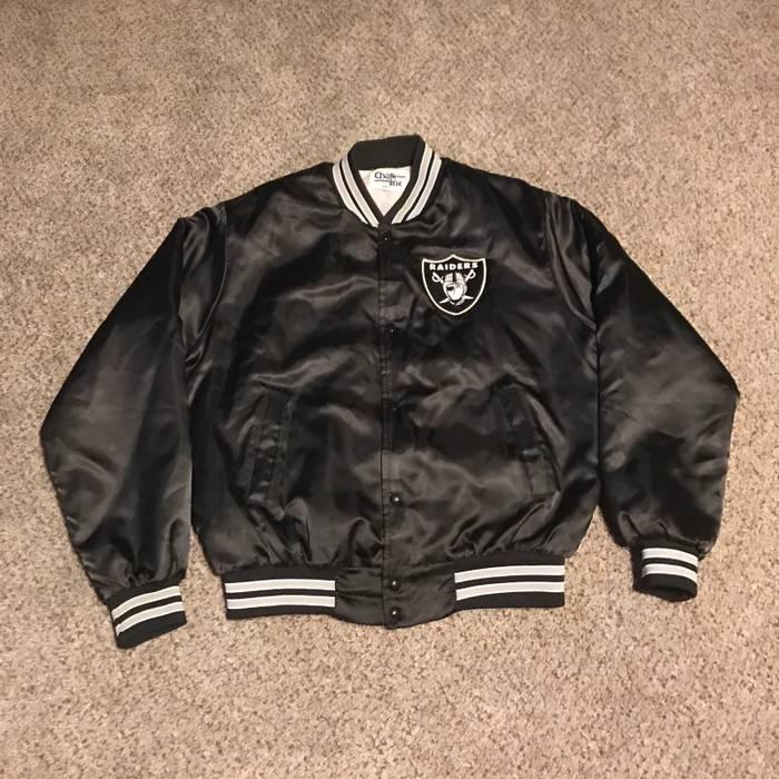 08d60957e Chalk Line Vintage Chalk Line Oakland Raiders Jacket Size l - Heavy ...