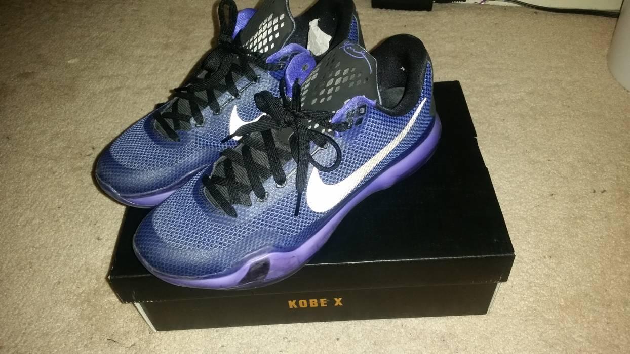 83826cc90e81 Nike Nike Kobe X Blackout Persian Violet Size 10.5 - for Sale - Grailed