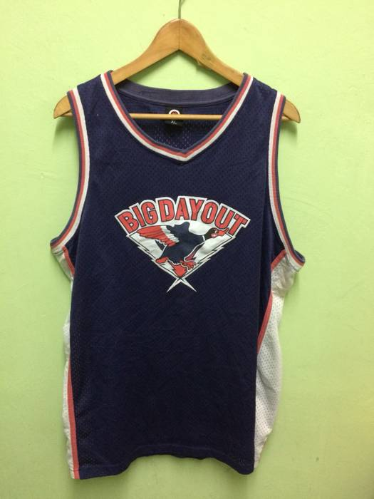 Jersey Rare!!Big Day Out Music Festival Mesh Basketball Jersey Style ... bdf0ce1c2