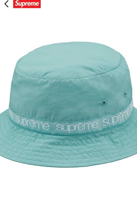 cdc4d19a1b1 Supreme Taping Crusher Bucket Hat Pale Green Size one size - Hats ...