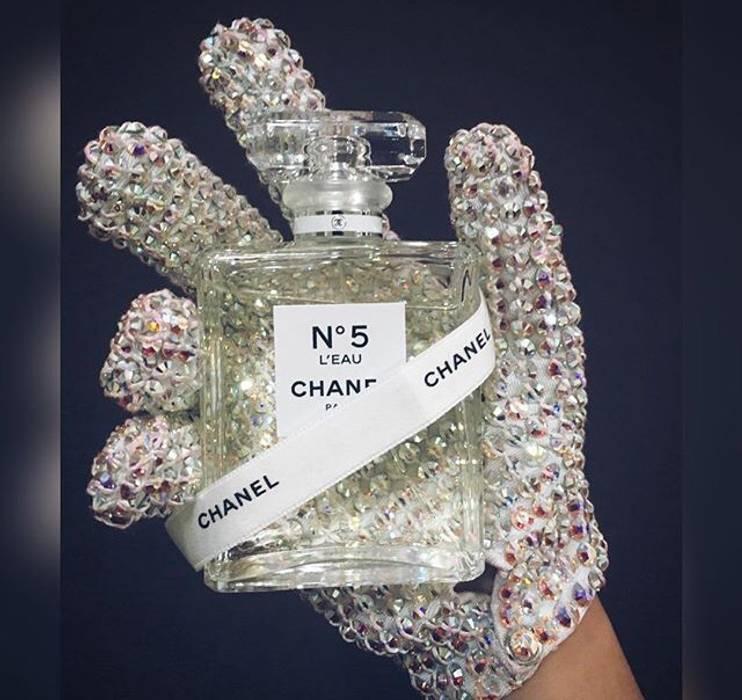 Michael Jackson Swarovski White Glove Replica