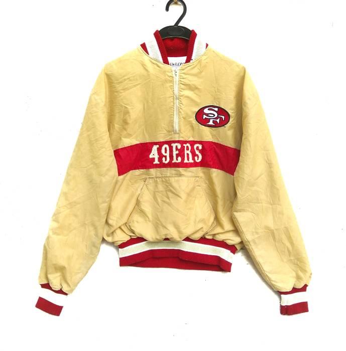 Vintage VINTAGE 80s 90s SAN FRANCISCO 49ers SATIN JACKET RARE Size US M    EU 48 580419cc8f33