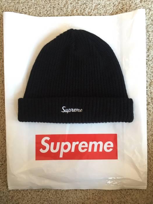 b4f40ff6e6ea6 Supreme Supreme Black Beanie 100% Authentic Worn Once Size one size ...