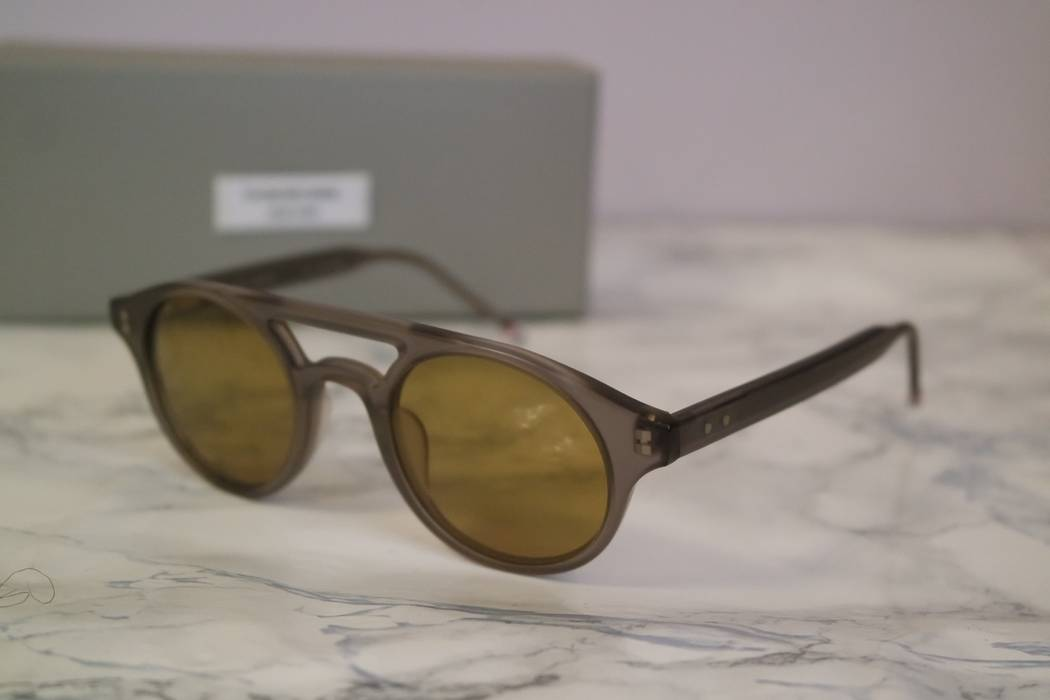 692cf48c2e1 Thom Browne. NEW Thom Browne TB 300 Grey Round Sunglasses. Size  ONE SIZE