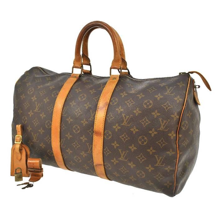 Louis Vuitton LV Keepall 45 Duffle Bag WORN Size one size - Bags ... 782c28adb0a56