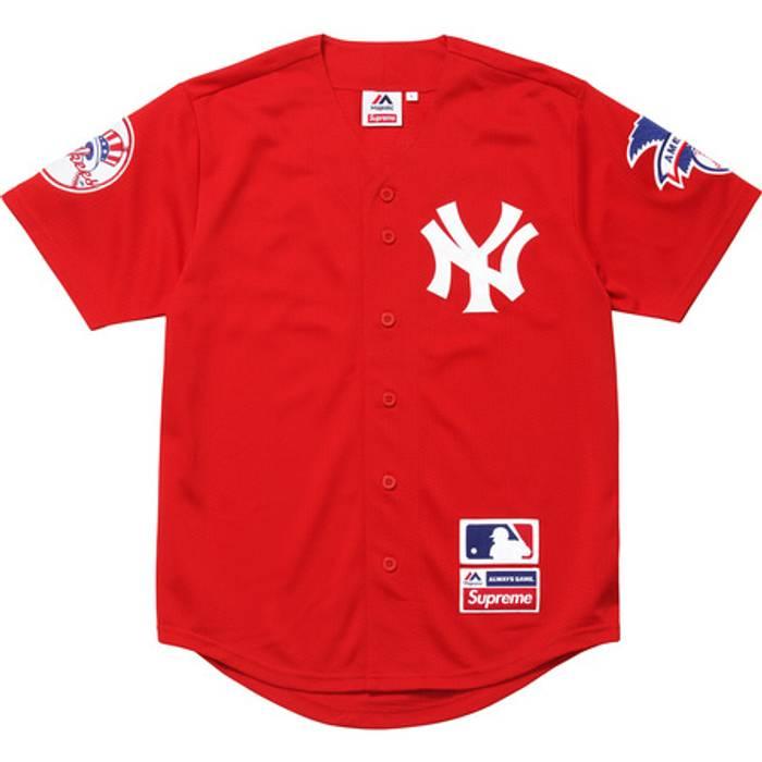 Supreme. Supreme x Yankees Jersey b8325549746