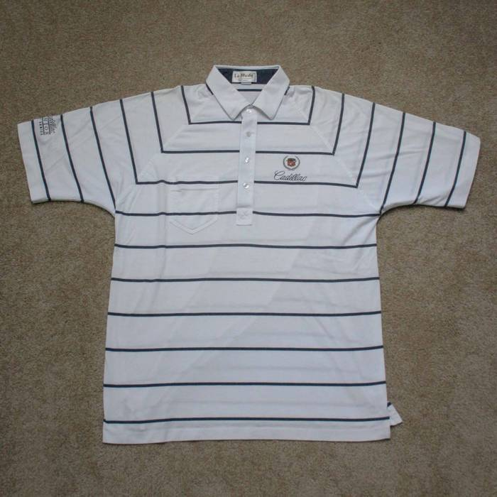 Vintage 80 S Cadillac Polo Size L Polos For Sale Grailed