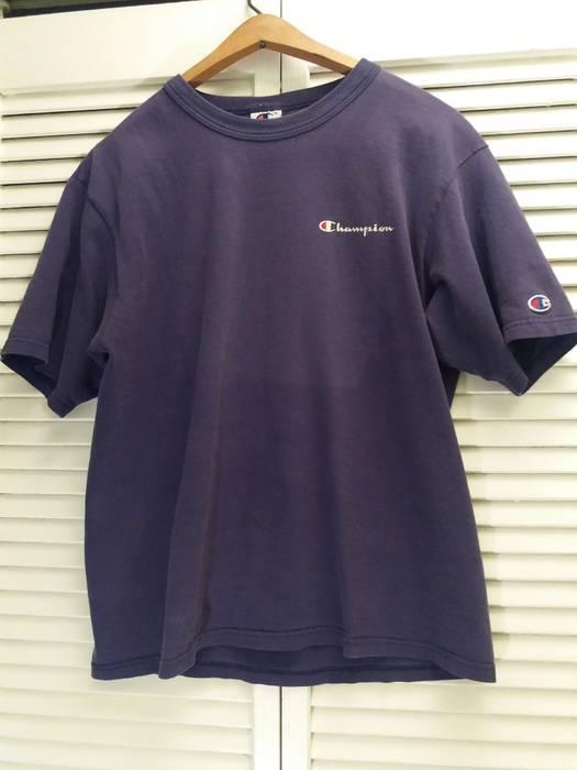e0b5fa14 Vintage Vintage Champion Distressed Purple T-Shirt Size M Medium Summer  Wear Print Spellout Logo