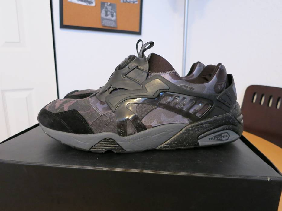 Bape BAPE Puma Disc Blaze Black Grey Size 11.5 - Low-Top Sneakers ... 24608c657