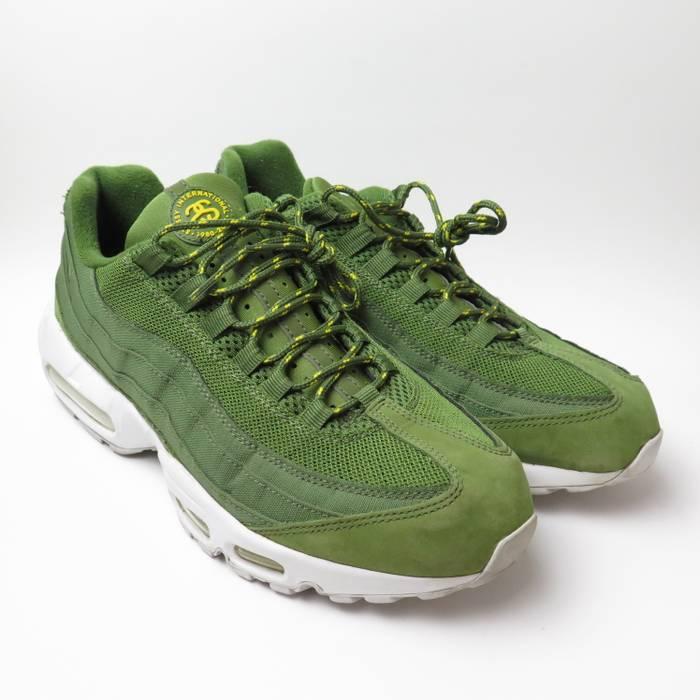 brand new f5139 3dfd7 Nike Nike x Stussy Air Max 95 Olive Army Green Sz 10.5 Size US 10.5