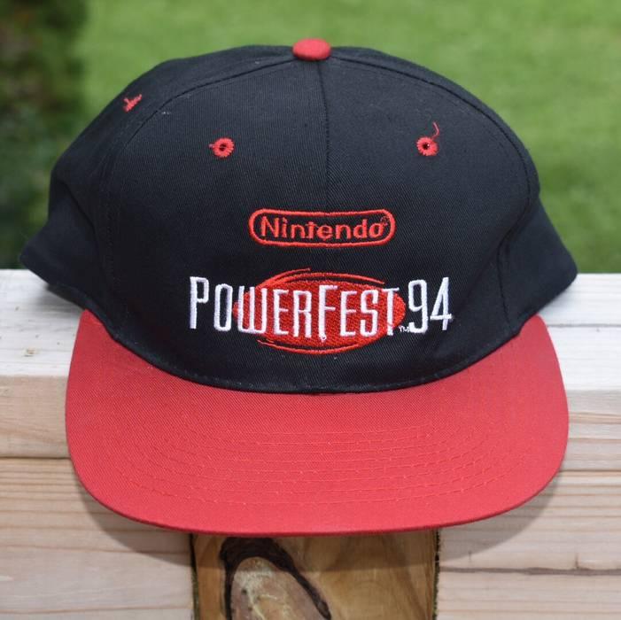 Nintendo Vintage 1994 Nintendo PowerFest Snapback Hat Size one size ... d686d375b786