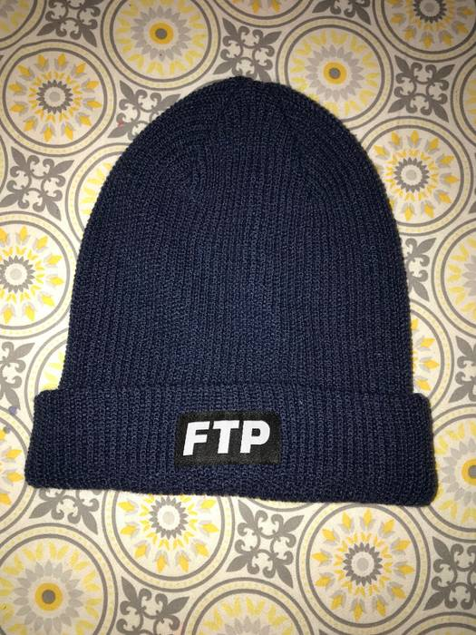 b5b67172ba9 Fuck The Population FTP Navy Blue Beanie Size one size - Hats for ...