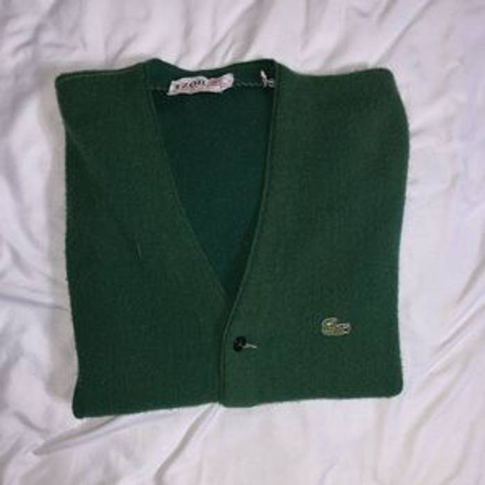 a0741713319 Vintage Vintage IZOD Lacoste Cardigan Size l - Sweaters   Knitwear ...