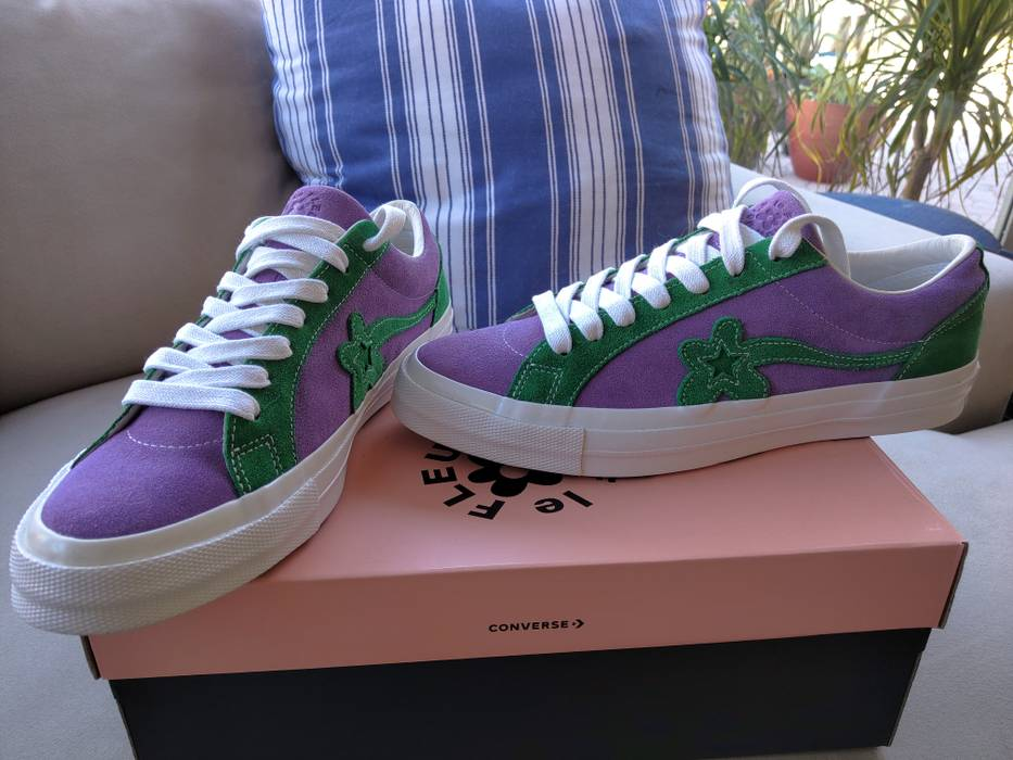c0f8fdb63993 Converse Golf Le Fleur purple green Size 11 - Low-Top Sneakers for ...