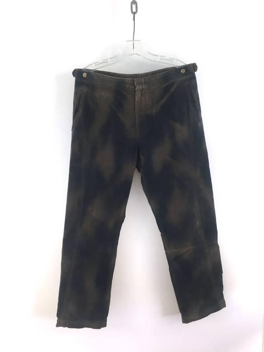 4ca23a32d94440 Comme Des Garcons Homme Plus. Overdyed Corduroy Pants. Size  US 32   EU 48