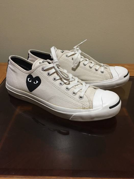 63f38caca44 Comme des Garcons Jack Purcell x CDG Converse Size 11 - Low-Top ...