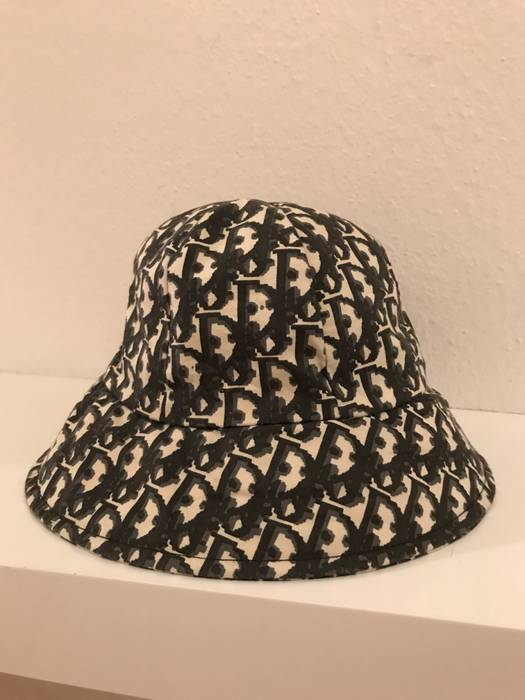 Christian Dior Monsieur Vintage Christian Dior Monogram Bucket hat ... 12498bbfe41