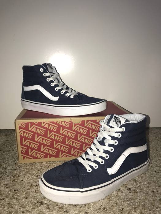 Vans Old Skool Hi-Tops Size 9 - Hi-Top Sneakers for Sale - Grailed ae1807a296