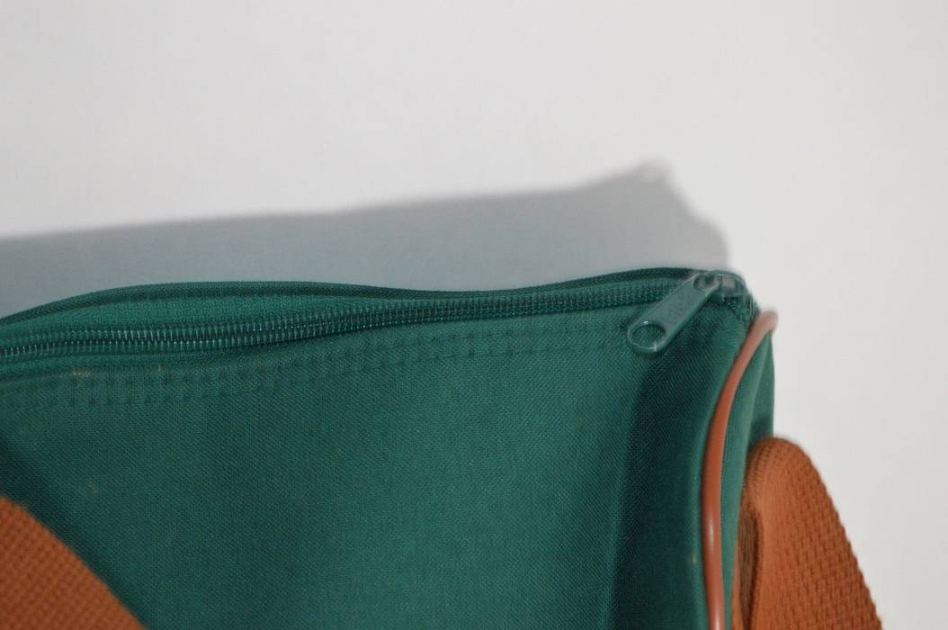 48b1f45eed0 ... low price ralph lauren vintage 90s polo ralph lauren nylon messenger bag  shoulder bag green brown