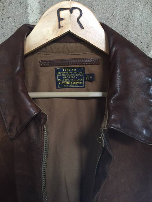 ea24fb8adf Polo Ralph Lauren Flight Jacket Size m - Leather Jackets for Sale ...